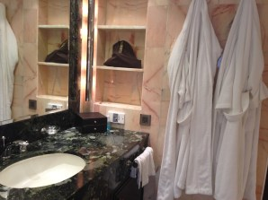 InterContinental HK Bathroom copyright Shelagh Donnelly