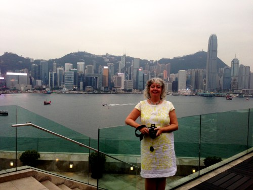 Shelagh HK IntContinental's Presidential Suite