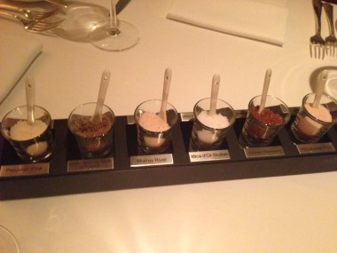 Steak House Salts Copyright Shelagh Donnelly
