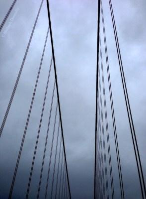 Golden Gate Bridge Cables San Fran 2330 Copyright Shelagh Donnelly