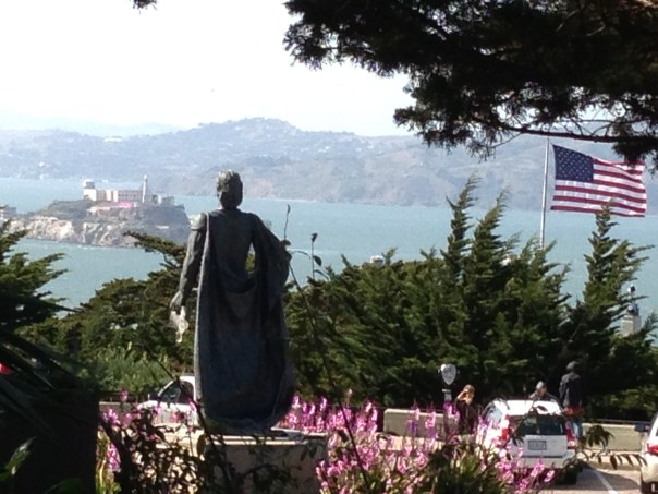 San Fran Bay from Coit Tower 1067 Copyright Shelagh Donnelly
