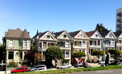 San Fran Painted Ladies Steiner Street 1173 Copyrright Shelagh Donnelly