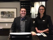 Antoine, Audrey Le Germain Hotel Quebec Copyright Shelagh Donnelly