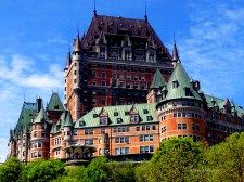 Fairmont Le Chateau Frontenac Quebec Copyright Shelagh Donnelly