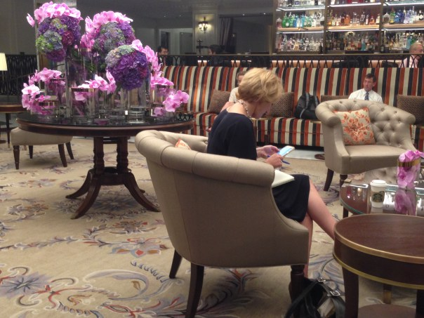 Business Travellers @ InterContinental Barclay 1199 Copyright Shelagh Donnelly
