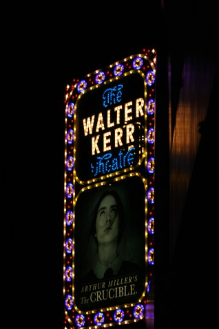 The Crucible Signage NYC Copyright Shelagh Donnelly