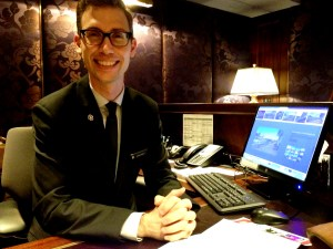 Adrian Proietti, Chief Concierge, IC Barclay Copyright Shelagh Donnelly