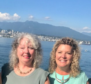 Shelagh Donnelly, Rhonda Scharf 2018