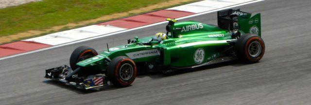 Caterham Formula1 2014 Malaysia