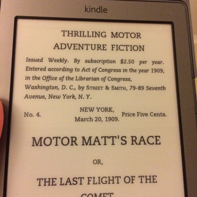Kindle - Motor Matt