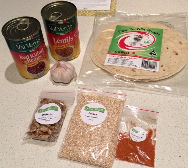 Inside a Veggie Box - Dry Goods