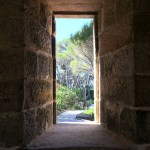 Boyd's Tower - Window to walking path