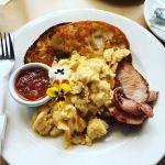 #BaconandEggs to help with the #hangover from a #latenight.  #TruffledEggs #Tomatorelish #Sourdough #bluetrufflegourmetdeli #rockhampton #queensland #visitcapricorn #instafoodie #instafood #instagood #foodporn #breakfast #nocatsforaweek #igersrockhampton