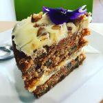 #SoMoist #SoSweet so #GlutenFree #CarrotCake from the #bluetrufflegourmetdeli  #igersrockhampton #dessertporn #cakeporn #Foodporn #InstaFoodie #Instafood #InstaGood #VegetablesarebetterinCake #Rockhampton #Queensland #VisitCapricorn #Cake #Cakestagram