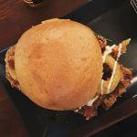 The #epic #wednesdaynight #Burger @pjoreillystuggeranong when viewed from above.  #Igerscanberra #Canberra #CheatDay #Ediblecbr #canberrafood #canberraeats #Burgerporn #foodporn #instagood #instafood #instafoodie