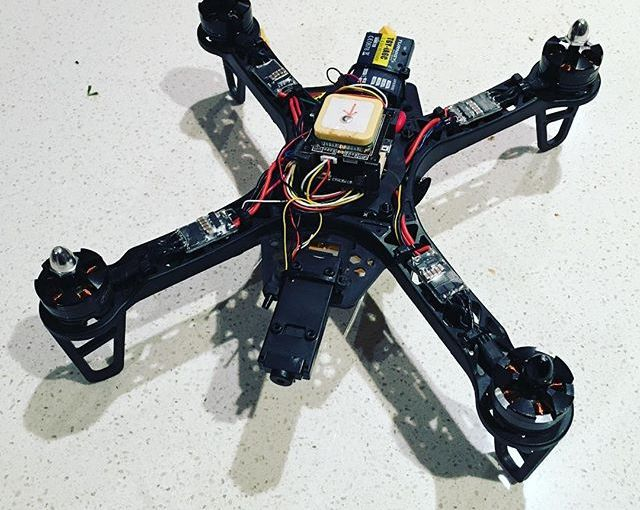 Lessons from Flying my DIY Quadcopter Badly