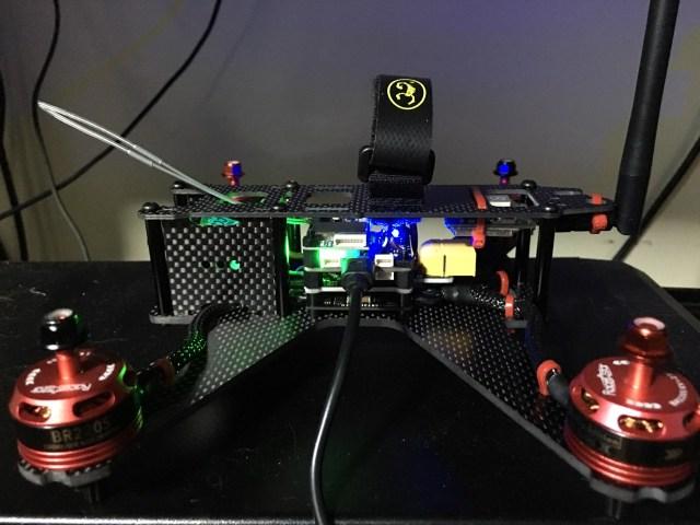 FPV Racing Quad Ready for setup