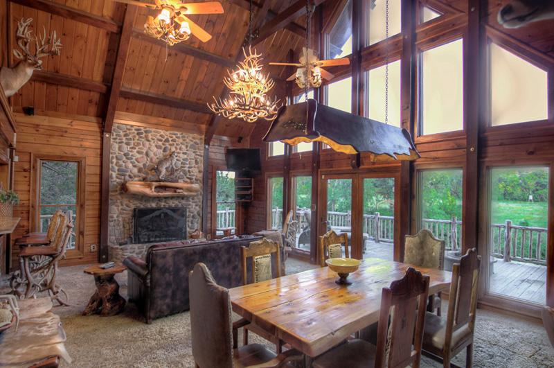 Texas Safari Ranch Log Cabin Clifton Texas ExcessTX