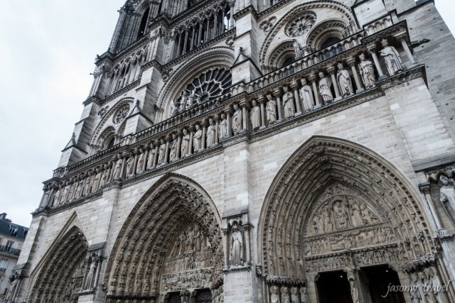 Norte Dame de Paris 聖母院