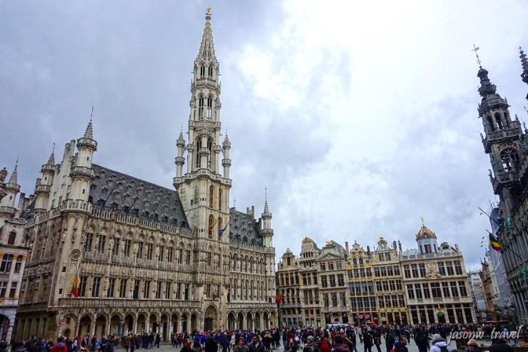 The Grand Place 布魯塞爾大廣場