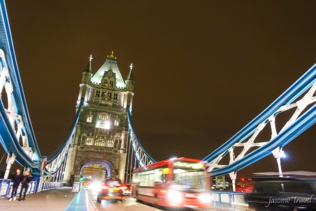 Tower Bridge 塔橋夜景
