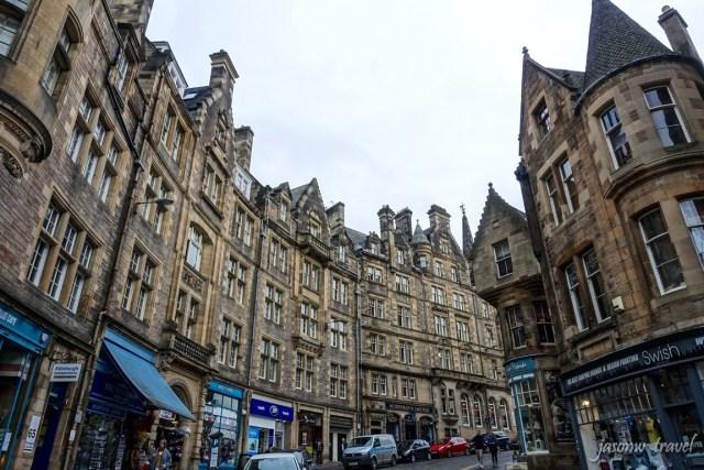 Edinburgh Cockburn Street 愛丁堡