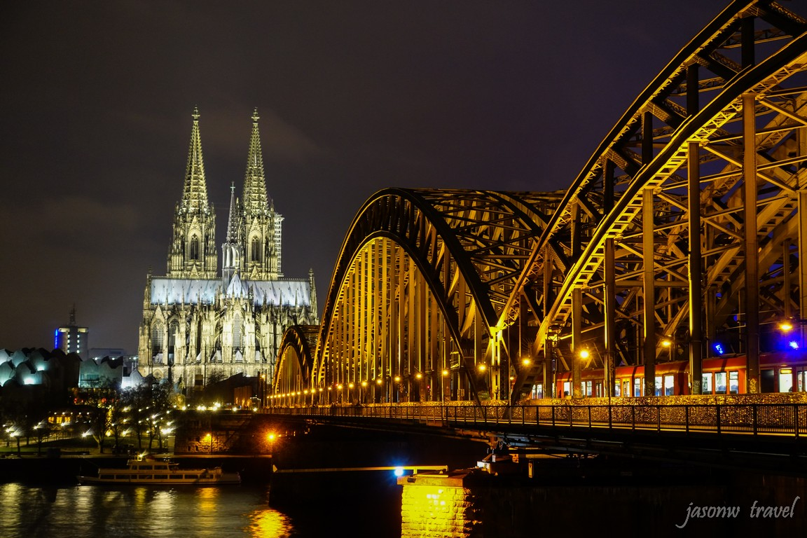 Kölner Dom Night VIew 科隆大教堂夜景