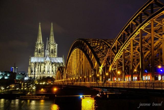 Kölner Dom Night VIew 科隆大教堂夜景