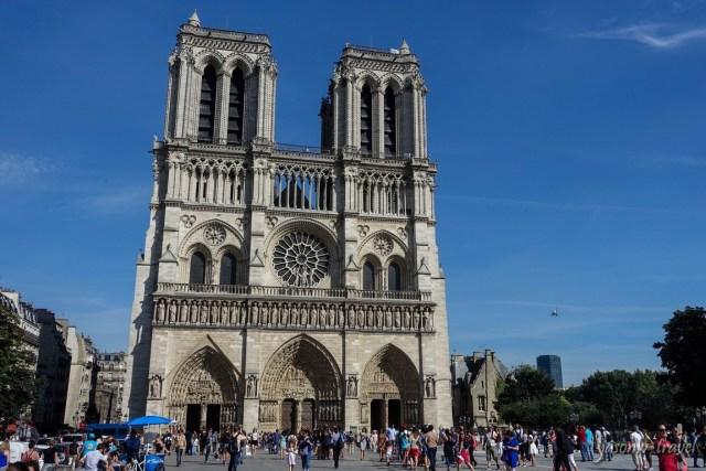 Notre Dame de Paris 巴黎聖母院
