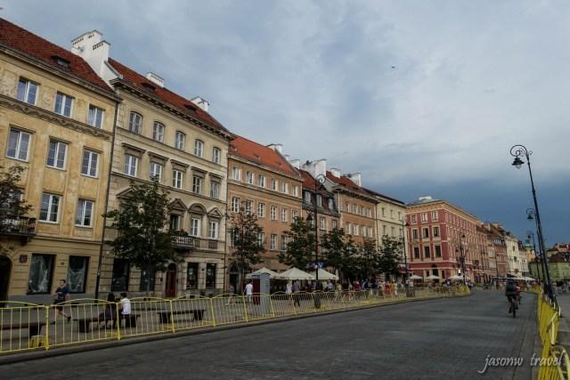 Krakowskie Przedmieście 華沙克拉科夫郊區街