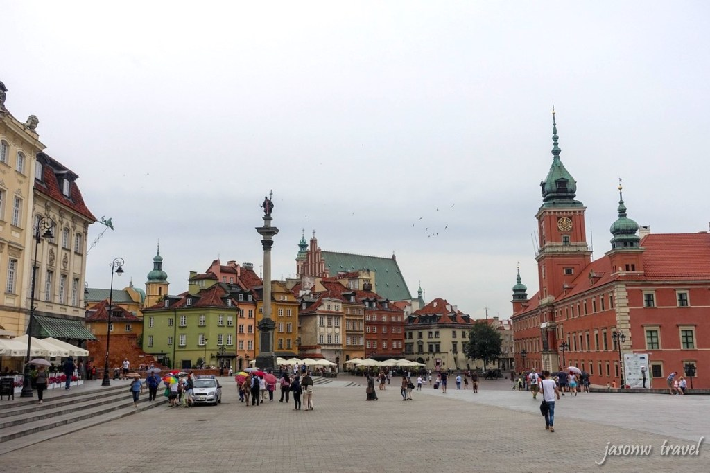 Warsaw Old Town 华沙旧城区