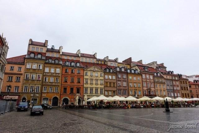 Warsaw Old Town 華沙舊城區集市廣場