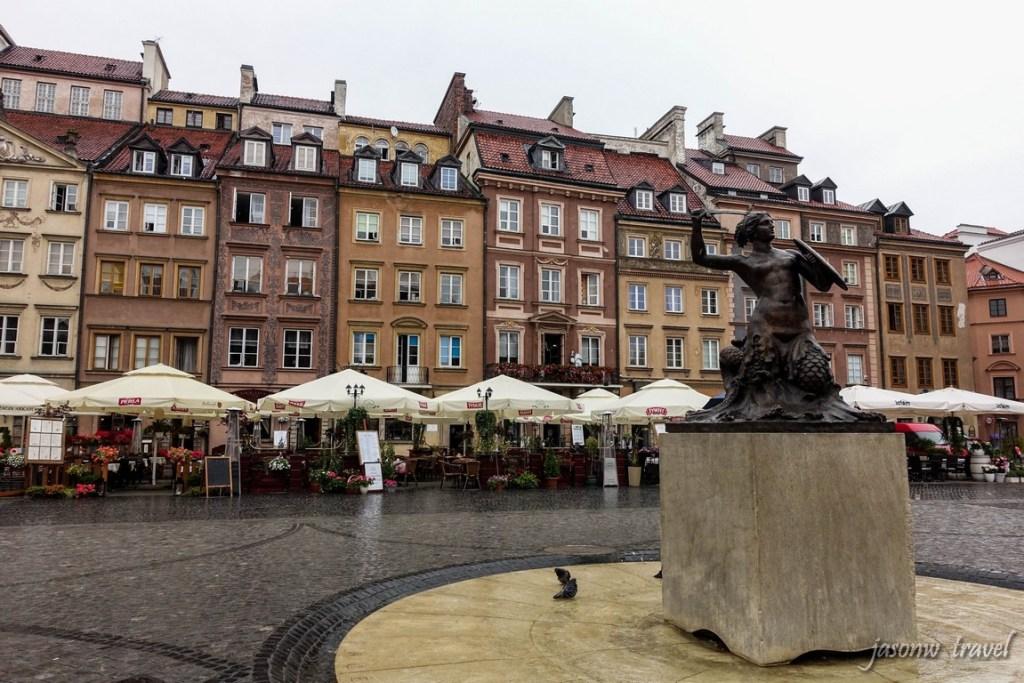 Warsaw Old Town 华沙旧城区集市广场