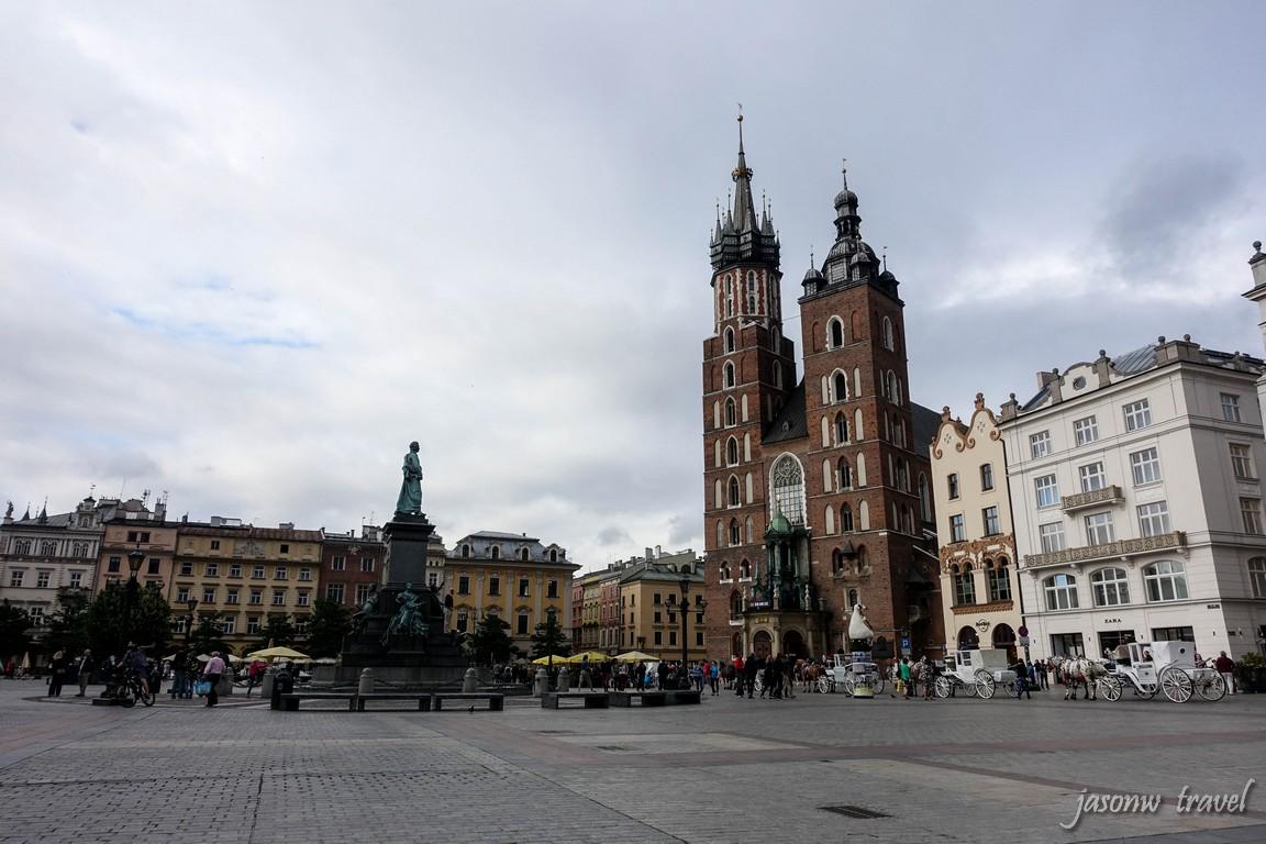 Krakow Rynek Główny 克拉科夫中央集市廣場