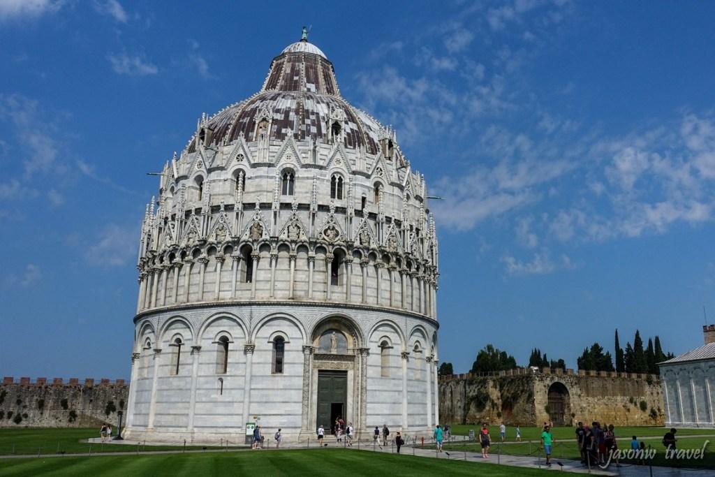 Pisa 比薩洗禮堂