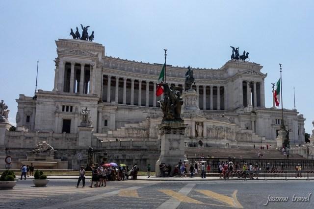 Altare della Patria 羅馬維托里亞諾紀念館