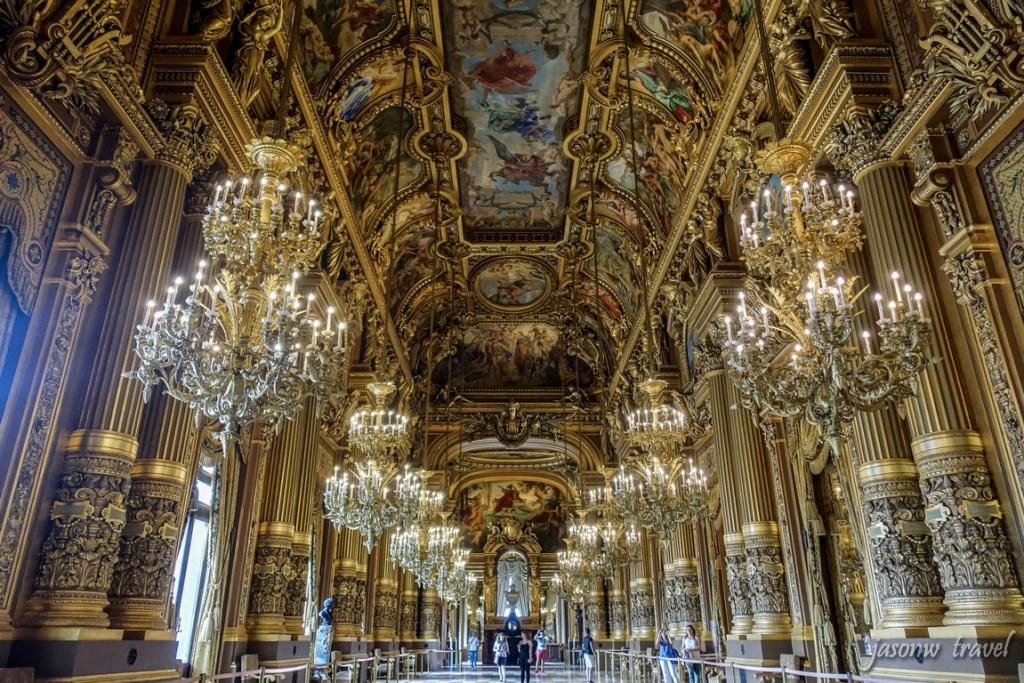 Palais Garnier Inside 巴黎歌劇院演內部