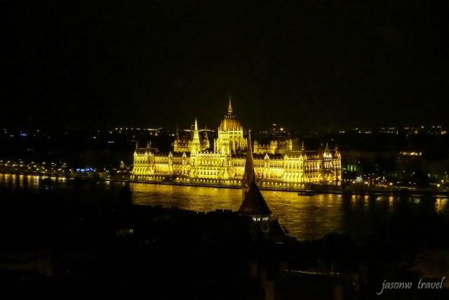 Budapest Országház night view 布達佩斯國會大廈夜景