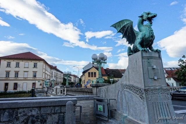 Ljubljana Zmajski Most 盧比安納 盧布爾雅那龍橋