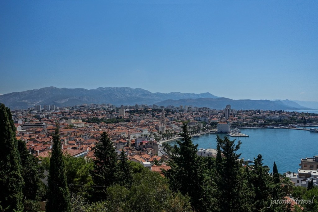 Split Croatia Bird View 克羅地亞 施普利特 史普利特 鳥瞰