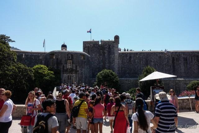 Dubrovnik Pile Gate Croatia 克羅地亞 杜布羅夫尼克 城門