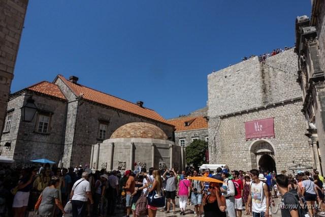 Dubrovnik Croatia Velika Onofrijeva fontana 克羅地亞 杜布羅夫尼克 大歐諾弗利水池