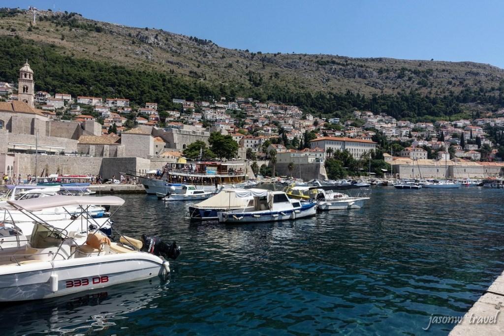Dubrovnik Croatia Port 克羅地亞 杜布羅夫尼克 老港口