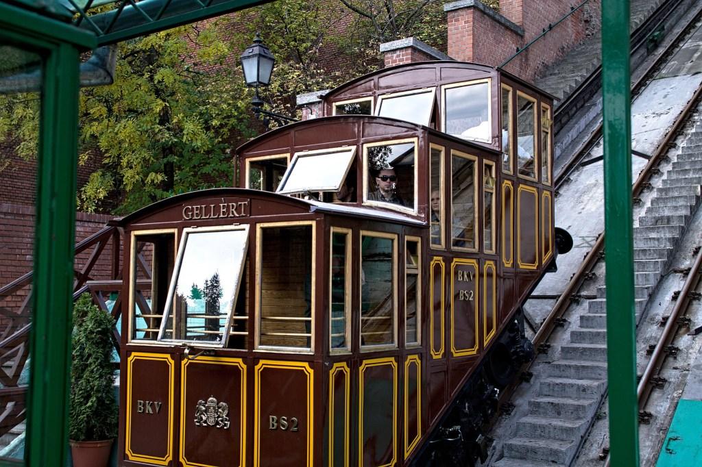 布達佩斯城堡山纜車
