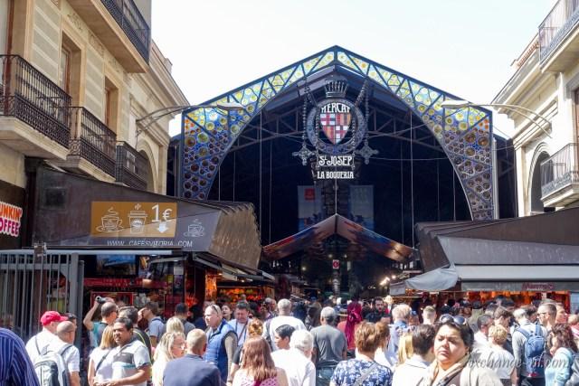 Marcat de La Boqueria 波格利亞市場