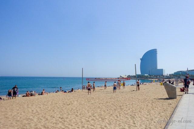 Platja de la Barceloneta巴塞隆內塔海灘