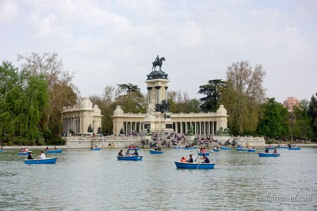 Parque de El Retiro 麗池公園