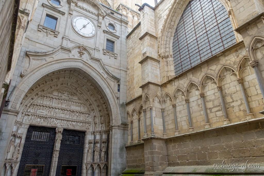 托雷多主教座堂後門