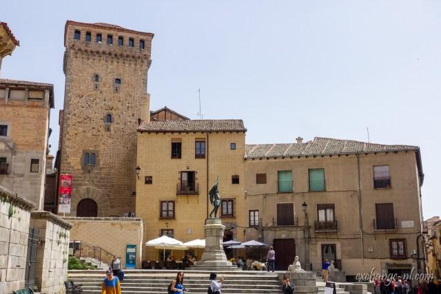 Plaza de Medina del Campo Segovia 塞哥維亞原野之城廣場