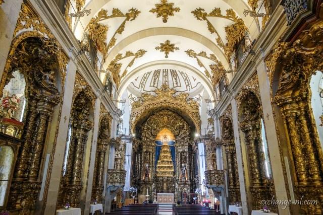波圖加爾莫德教堂內部 Inside of Igreja dos Carmelitas, Porto